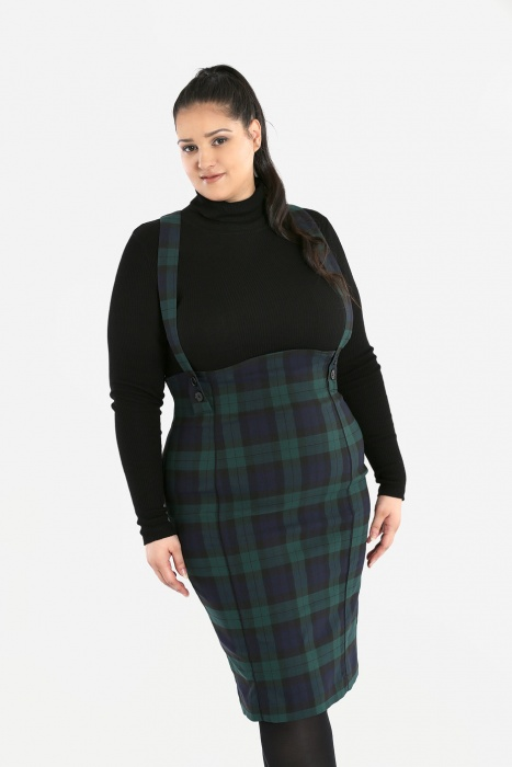 Evelyn Pinafore Skirt
