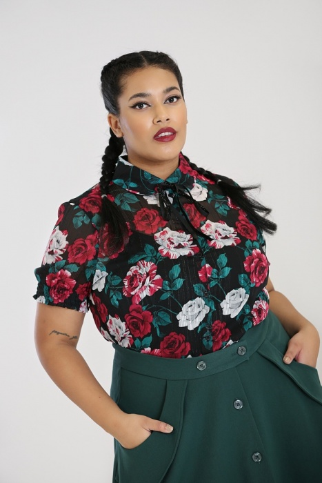 Bed of Roses Blouse